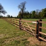 Post and Rail & Gate