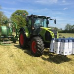 Round Bale Wrapping